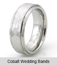 Cobalt Wedding Bands
