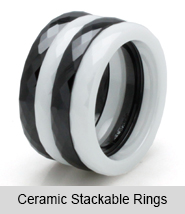 Ceramic Stackable Rings