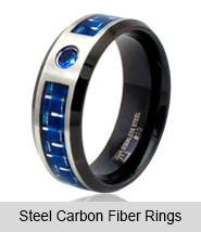 Steel Carbon Fiber Rings