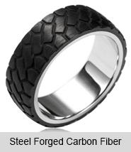 Steel Forged Carbon Fiber