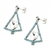 Swarovski Elements Earrings (1)