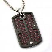 Carbon Fiber Pendants (6)