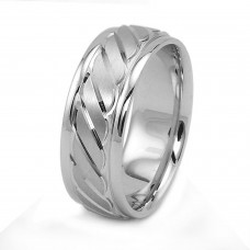 8mm Stainless Steel Groove Ring